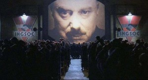 Ebonywood has Orwellian thoughts.